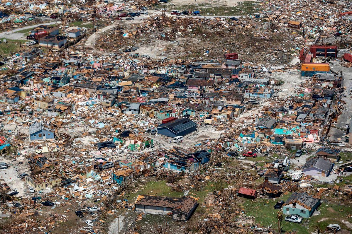 Fotogalería: así luce Bahamas tras el paso del huracán Dorian