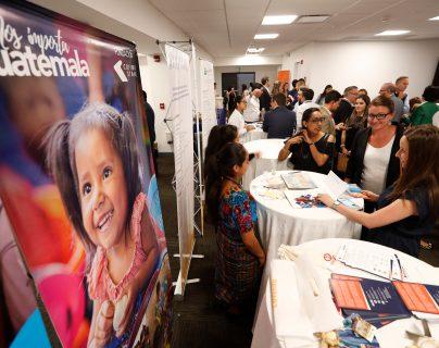 Varias organizaciones se sumaron a la iniciativa Nútreme que busca informar sobre la desnutrición crónica. (Fotos Prensa Libre: Esbin García)
