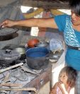 Familias en pobreza extrema son las más vulnerables a la desnutrición. (Foto Prensa Libre: Hemeroteca PL)