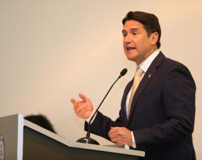 Ricardo Quiñónez, alcalde capitalino. (Foto Prensa Libre: @AlcaldeQuinonez)