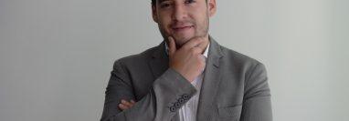 Rodrigo López, guatemalteco ex becario de Young Leaders of the Americas Initiative (YLAI) 2018. (Foto Prensa Libre: María Reneé Barrientos)
