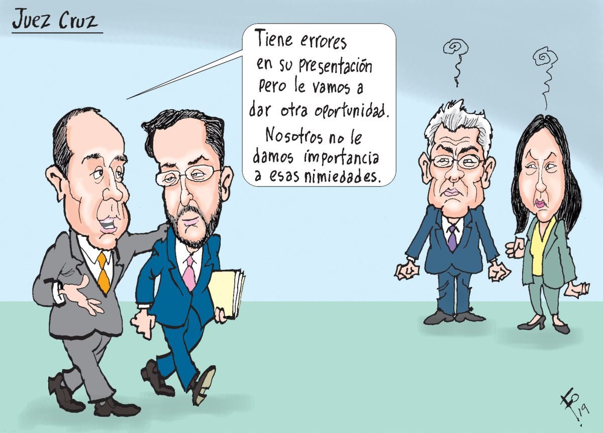 Fo: Juez Cruz