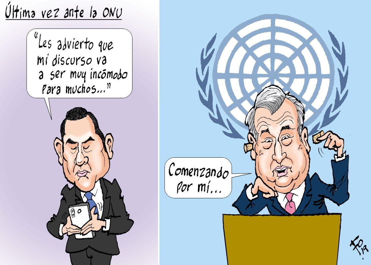 Fo: Última vez ante la ONU