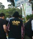 Los allanamientos se desarrollan en Quetzaltenango y Guatemala. (Foto Prensa Libre: MP)