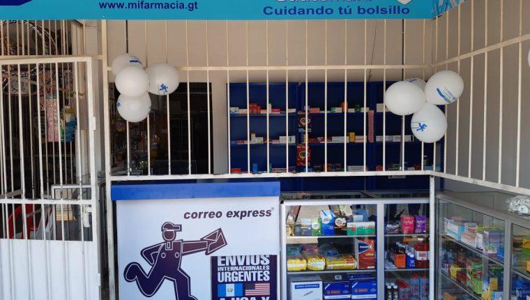 La microfranquicia Mi Farmacia Guatemala fue creada en el 2019 y consta la unión de varios negocios. (Foto, Prensa Libre: Cortesía).