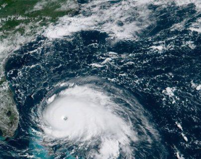 Aún es incierta la trayectoria de Dorian después de que golpee las Bermudas. (Foto Prensa Libre: EFE)
