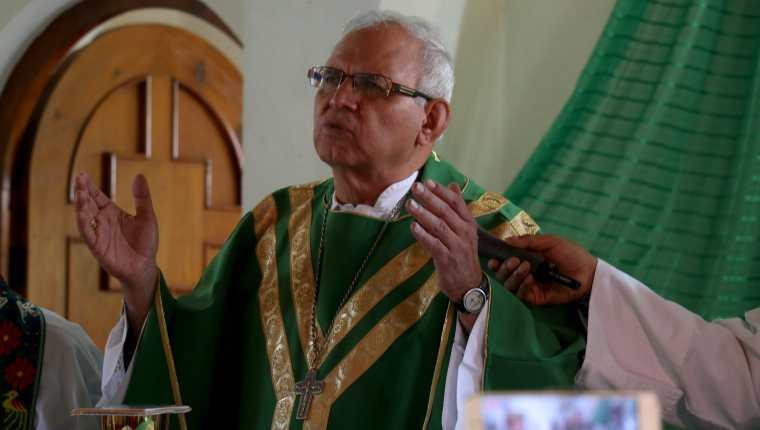 El obispo de Huehuetenango, Álvaro Ramazzini Imeri, fue nombrado cardenal por el papa Francisco. (Foto Prensa Libre: Mike Castillo)