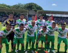 Antigua GFC es el flamante líder del Apertura 2019. (Foto Prensa Libre: Antigua GFC)