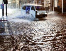 Las calles de Guatemala se ven afectadas constantemente por inundaciones (Foto: Hemeroteca PL).