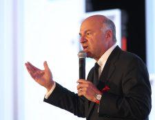 El reconocido empresario e inversionista Kevin O´Leary participó durante el Tigo Business Forum 2019. (Foto Prensa Libre: Norvin Mendoza)