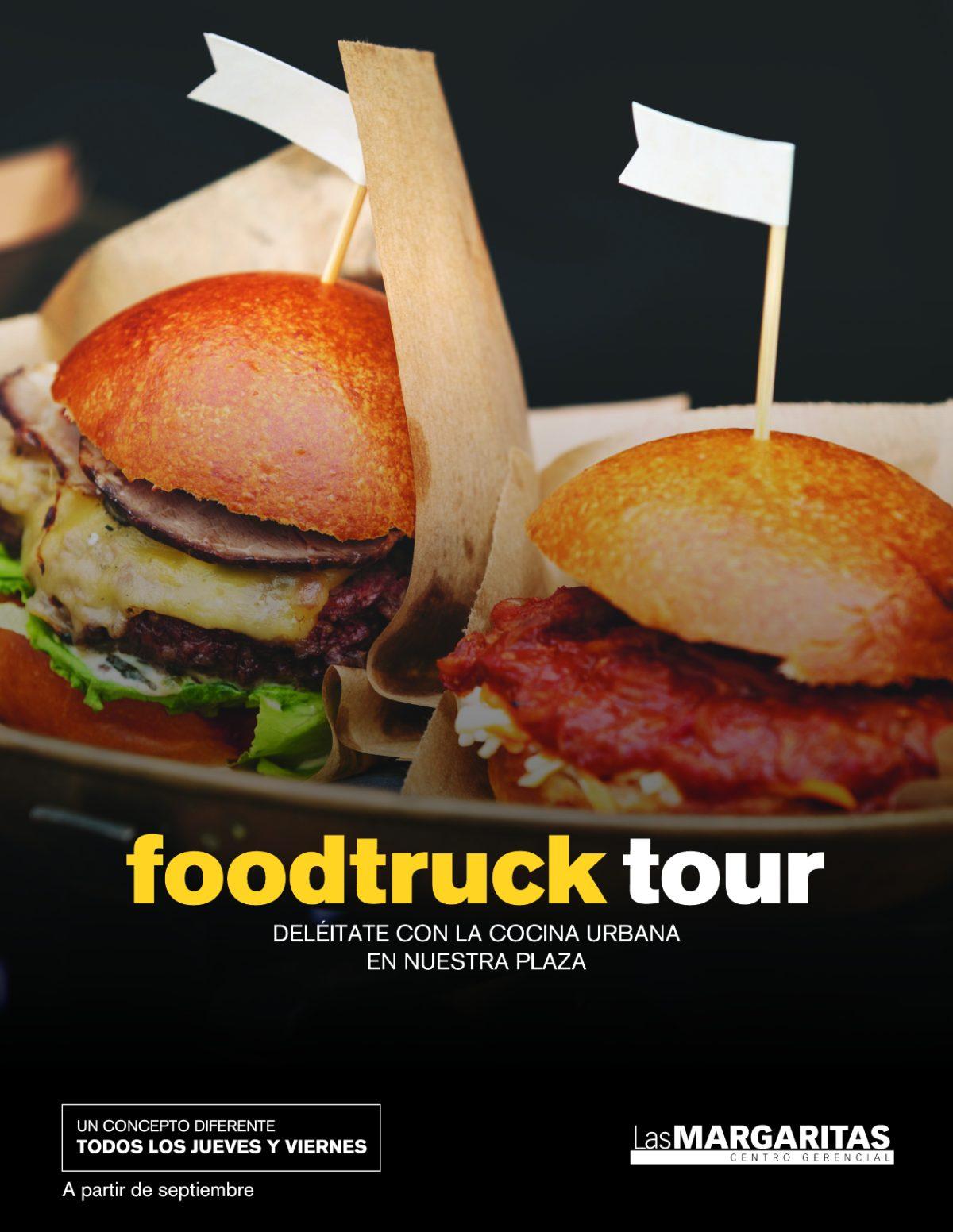 Foodtruck Tour en Centro Gerencial Las Margaritas