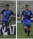Los seleccionados guatemaltecos Stheven Robles, Jorge Vargas, Marvin Ceballos y Danilo Guerra, destacaron en las primeras dos fechas de la Liga de Naciones. (Foto Prensa Libre: cortesía ACD)