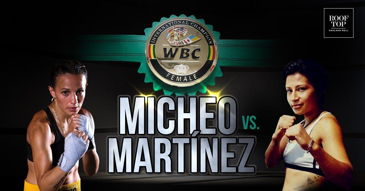 María Micheo peleará por el Título Internacional Absoluto del CMB