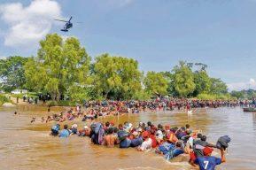 Organizaciones civiles rechazan posible acuerdo migratorio de Honduras con EE. UU.