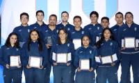 La delegación guatemalteca cosechó 19 preseas en los Panamericanos de Lima 2019. (Foto Prensa Libre: Carlos Vicente)