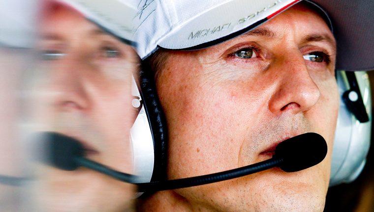 Expiloto de Fórmula Uno Michael Schumacher. (Foto Prensa Libre: EFE)