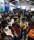 Miles de guatemaltecos visitaron la 9na Edición de la Clasiferia del Empleo, organizado por Prensa Libre y Guatevisión. Fotografía Prensa Libre: Juan Diego González