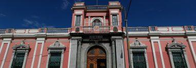 Casa Yurrita, actualmente sede del Tribunal Supremo Electoral -TSE-. (Foto Prensa Libre: Esbin García)