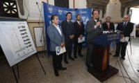 En octubre del 2018 el Conadie presentó al Congreso la iniciativa del contrato de la APP para la construcción de la autopista Escuintla-Puerto Quetzal y esta por cumplirse un año. (Foto Prensa Libre: Hemeroteca)