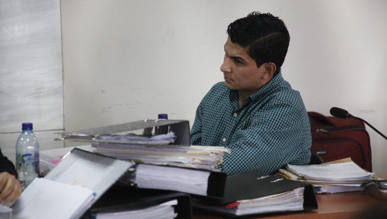 Jabes Meda, sentenciado por haber arrollado a estudiantes durante una manifestación en 2017. (Foto Prensa Libre: Hemeroteca PL)