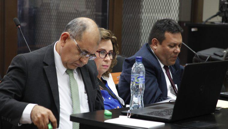 La excandidata presidencial de la UNE, Sandra Torres podría beneficiarse de la sentencia que favoreció a cuatro diputados de ese partido político. (Foto Prensa Libre. Hemeroteca PL)
