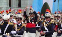 Liceo Guatemala uno de los establecimientos mas antiguos en participar en los desfile en la celebraci—n del 198 a–os de Independencia.   Fotograf'a. Erick Avila:             15092019
