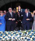 Jafeth Cabrera, vice presidente y Jimmy Morales, presidente, serán juramentados para  formar parte del Parlacén (Foto Prensa Libre: Hemeroteca PL).