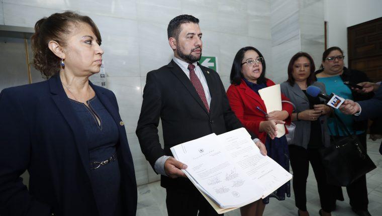 El Consejo de la Carrera Judicial entregó el proyecto de reglamento para la evaluación de jueces y magistrados a la Corte Suprema de Justicia, el 19 de septiembre de 2019. (Foto Prensa Libre: Hemeroteca).