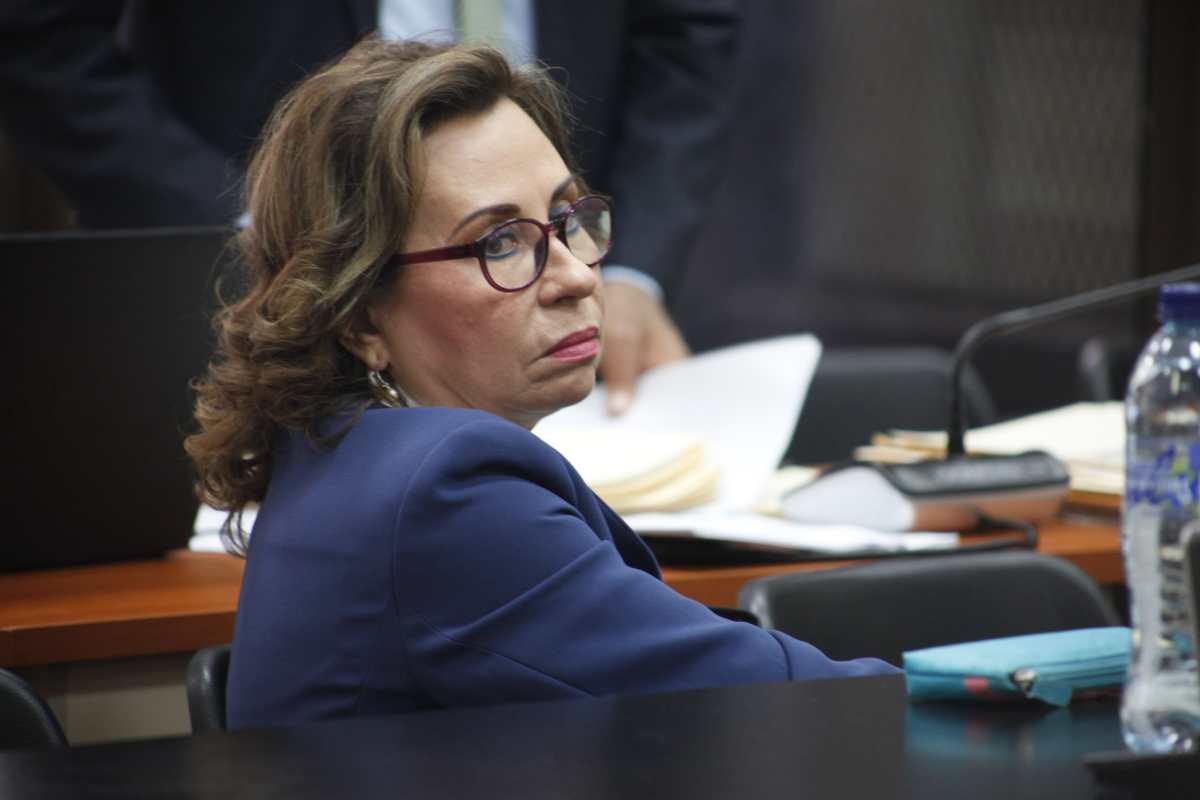Sandra Torres regresará el domingo a prisión en Mariscal Zavala