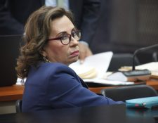 Sandra Torres, excandidata presidencial de la UNE en 2015 y 2019. (Foto Prensa Libre: Hemeroteca PL)