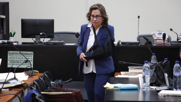 El partido Unidad Nacional de la Esperanza busca distanciarse de Sandra Torres. (Foto Prensa Libre: Hemeroteca PL)