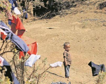 Hasta agosto Coatepeque reportó 381 casos de niños desnutridos. (Foto Prensa Libre: Hemeroteca PL)