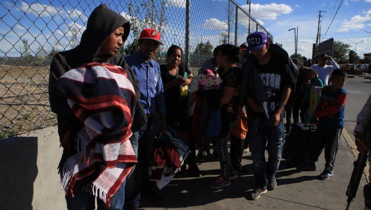 EE. UU. comenzó a firmar acuerdos de migración con los países de la región ante el incremento de indocumentados en su frontera sur. (Foto Prensa Libre: Hemeroteca PL)