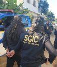 El Ministerio Público y la Policía Nacional Civil capturan en Colomba, Quetzaltenango a pandilleros de la Mara Salvatrucha. (Foto Prensa Libre: Cortesía)