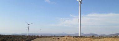 El Parque Eólico Los Cururos tiene una capacidad instalada de 109,6 MW, cuenta con 57 aerogeneradores. (Foto Prensa Libre: Grupo Cobra)