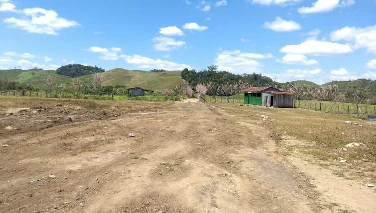 En una finca ubicada en Petén ocurrió el confuso incidente donde murió una niña de 5 años. (Foto Prensa Libre: Dony Stewart)
