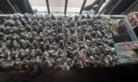Un investigador de la PNC asegura que el consumo de marihuana crece en Santa Cruz del Quiché, (Foto cortesía PNC)