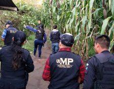 Fiscales y policías buscan en Quiché y Quetzaltenango a una red de pornografía infantil. (Foto Prensa Libre: Cortesía)