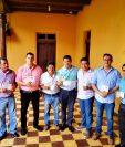 La nueva corporación municipal del Retalhuleu que gobernará la cabecera del 2020 al 2024. (Foto Prensa Libre: Cortesía Cambiemos juntos a Retalhuleu)