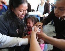 El sarampión es una enfermedad muy contagiosa. Puede ser grave en los niños pequeños.  (Foto Prensa Libre: Mynor Toc)