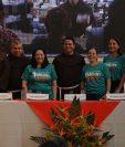 Los organizadores de la rifa Un Millón de Amigos de las Obras Sociales del Santo Hermano Pedro se mostraron satisfechos por lo recaudado este 2019. (Foto Prensa Libre: Julio Sicán).