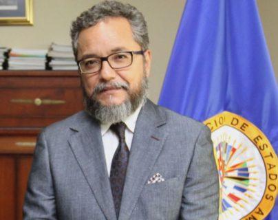 Ronalth Ochaeta será portavoz interino de la Cicies. (Foto Prensa Libre: @Almagro_OEA2015).
