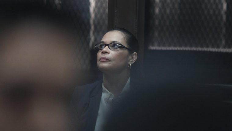 Roxana Baldetti, ex vicepresidenta de Guatemala, ya fue condenada por corrupción y enfrenta otros procesos por el mismo delito. (Foto Prensa Libre: Hemeroteca PL)