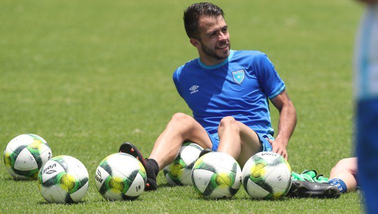Rodrigo Saravia será el jugador determinante en el medio campo. (Foto Prensa Libre: Francisco Sánchez).