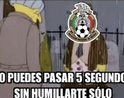 La Selección de Argentina superó por goleada a México, este es uno de los memes que circulan en internet. (Foto Prensa Libre: Redes)