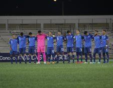 Este es el equipo de Guatemala que jugó contra Puerto Rico en el juego de ida. (Foto Prensa Libre: Cortesía ACD)