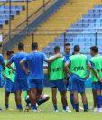 La Selección de Guatemala se prepara para enfrentar a Anguila. (Foto Prensa Libre: Fedefut)