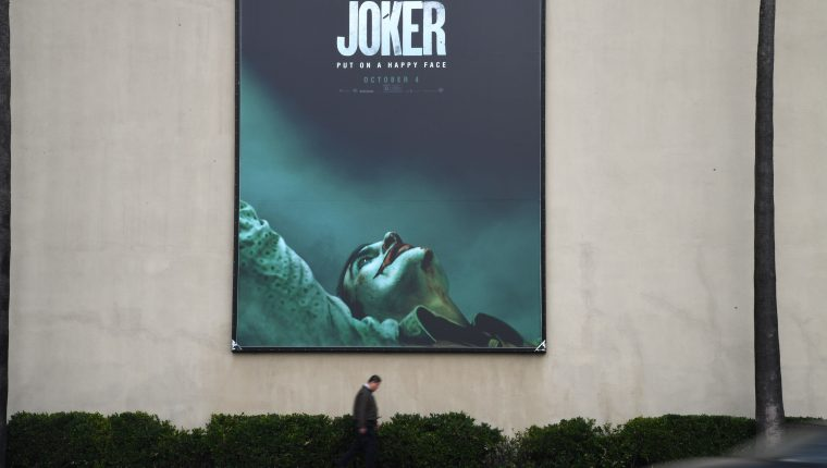 El estreno del Joker causa expectativa en EE. UU. (Foto Prensa Libre: AFP)