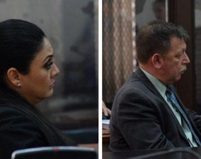Clara Mariel Carvallo y Manuel Francisco Sosa fueron condenados por el caso Agua Mágica. (Foto Prensa Libre: Claudia Martínez)