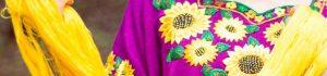Las piezas que vende la tienda se inspiran en diversas técnicas mayas, como el telar de cintura. (Foto Prensa Libre: Cortesía)